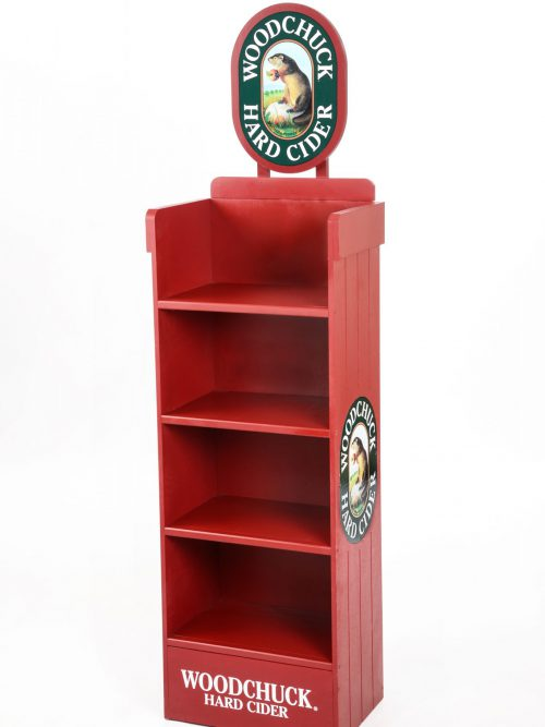 Standing Wood Display