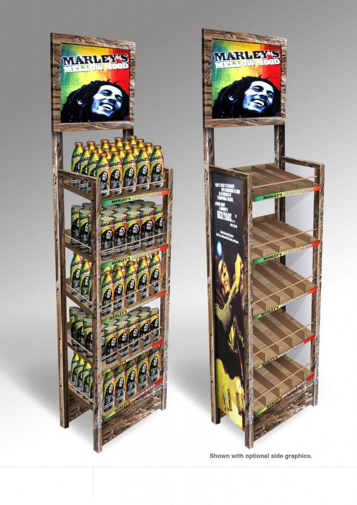 Permanent Display Beverage Pop Display Dunning Displays